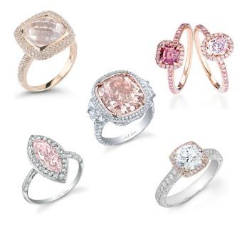 Un anillo color rosa p