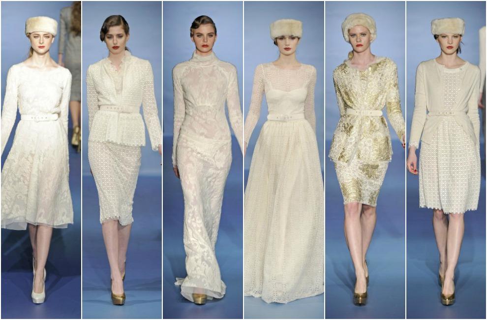 Vestidos de novia de bodas de oro