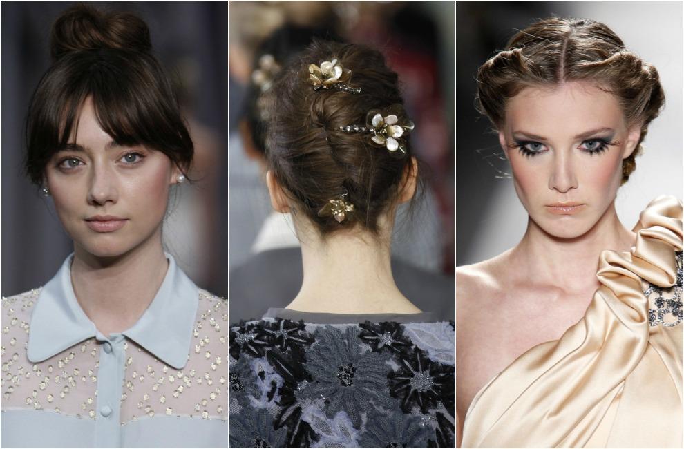 elegimos los mejores peinados y recogidos de pasarela para lucir con velo