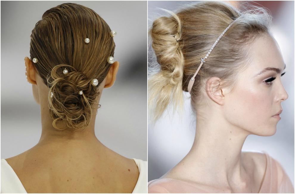 Peinados para colocar velo de novia