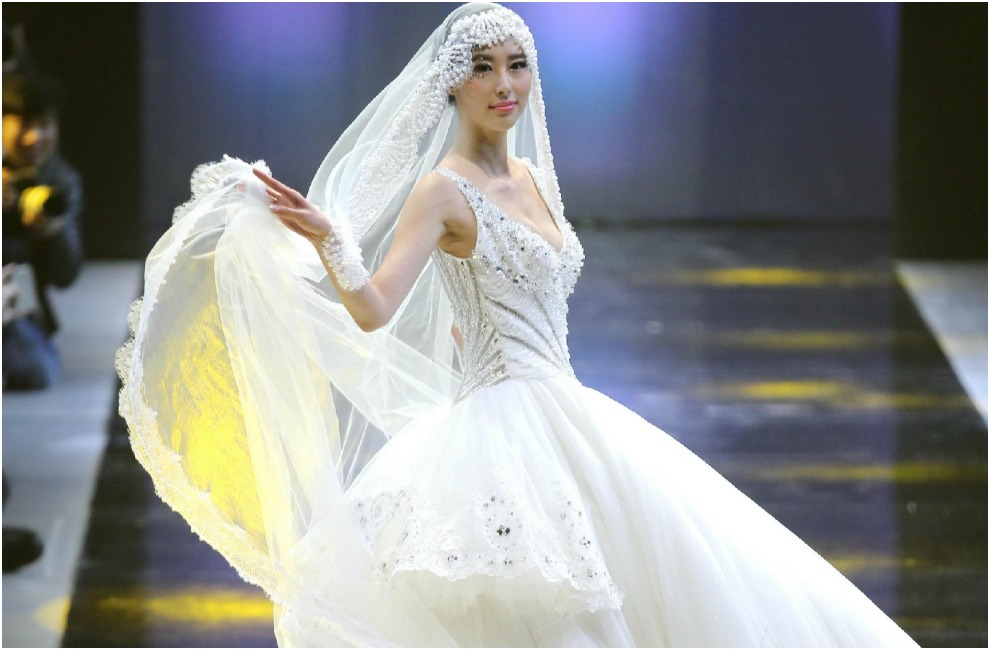 Inspiración para novias en la Mercedes Benz China Fashion Week