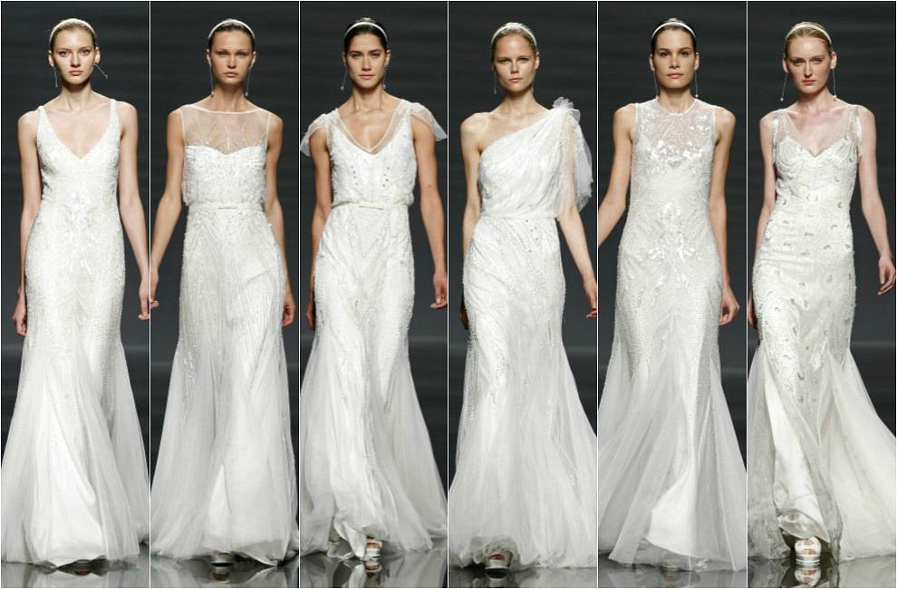 Barcelona Bridal Week 2014: El espectacular desfile de Rosa Clará abre la pasarela Gaudí Novias