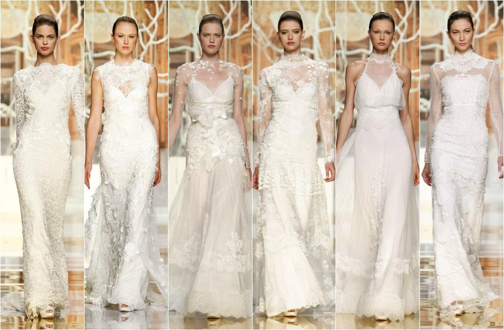 barcelona bridal week 2014: los vestidos 'gemelos' de yolancris e