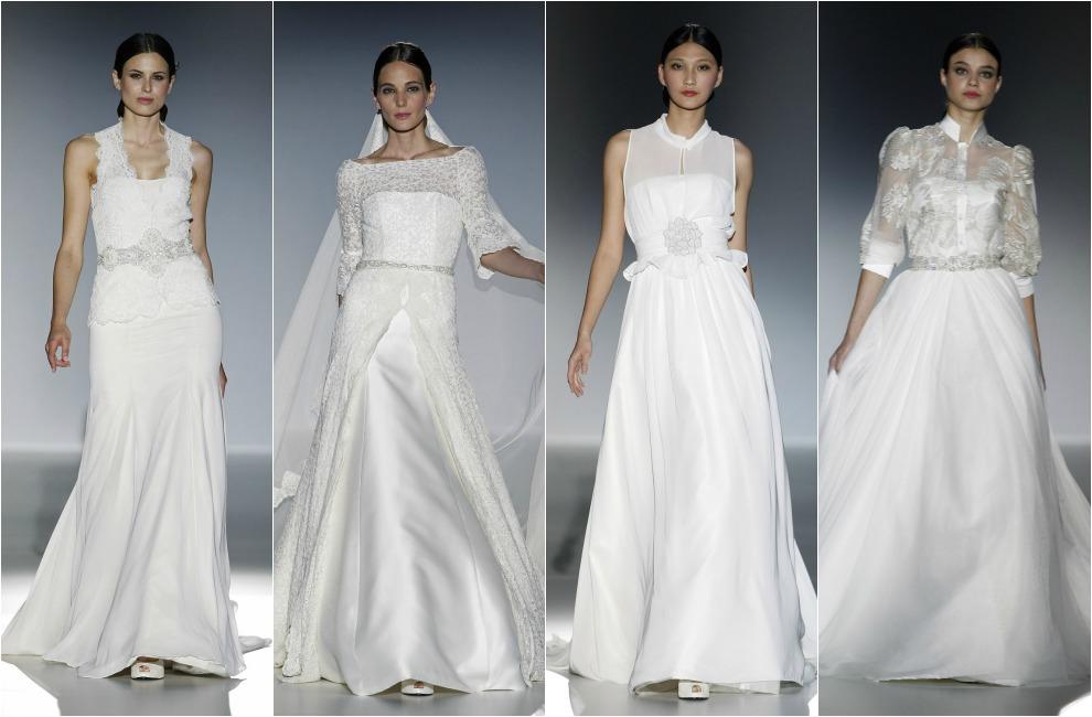 Barcelona Bridal Week 2014: Francis Montesinos y Franc Sarabia, vestidos de novia con sabor español