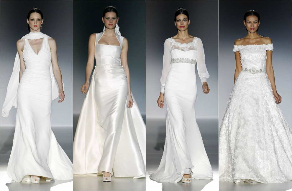 barcelona bridal week 2014: francis montesinos y franc sarabia