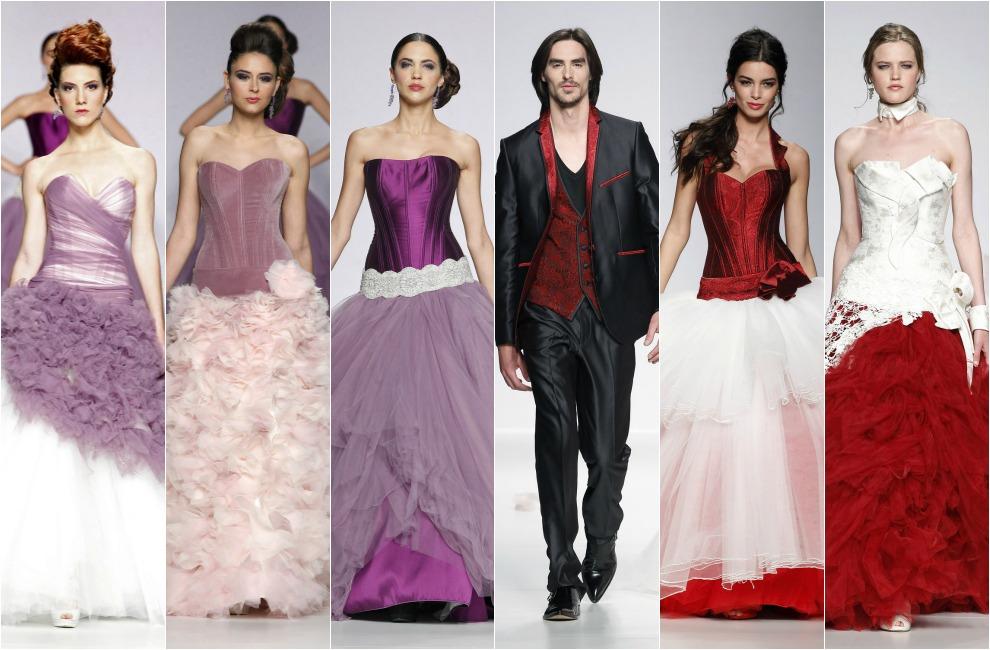 Barcelona Bridal Week 2014: Despliegue de efectos especiales en los desfiles de Matilde Cano y Jordi Dalmau