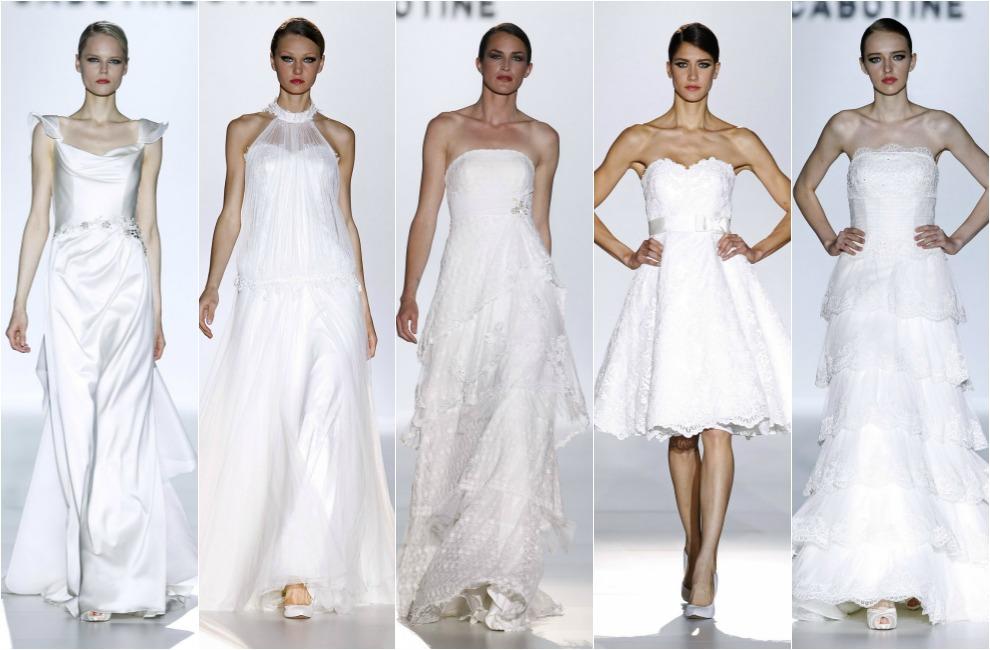Barcelona Bridal Week 2014: Las coquetas invitadas 'vintage' de Sonia Peña y Cabotine