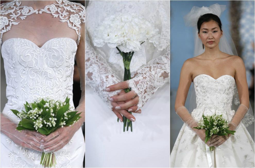 los ramos de novia más bonitos de las pasarelas nupciales