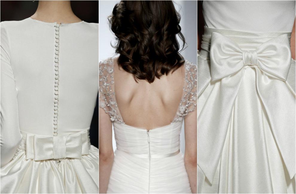 Detalles para vestidos de novia