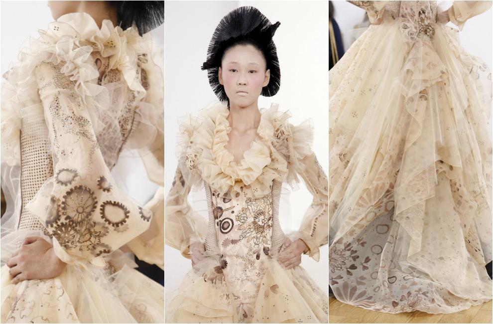 La Alta Costura, en clave de novia