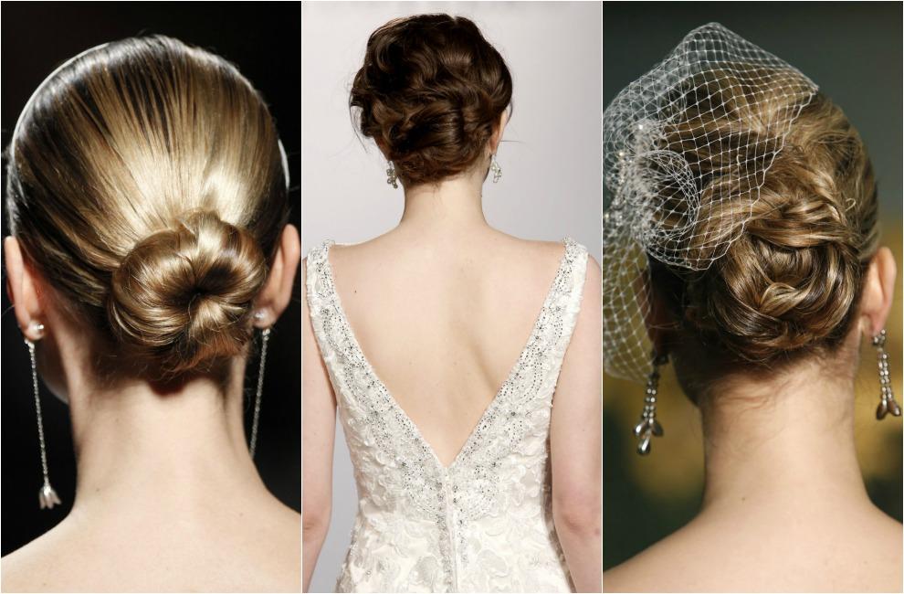 Como hacer un peinado recogido para novia
