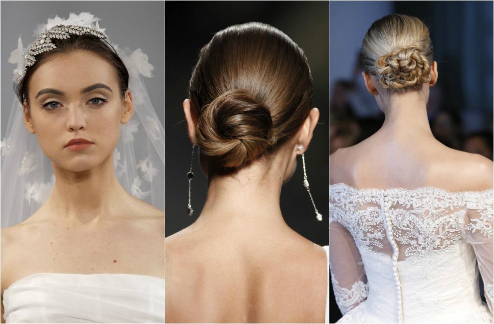 30 peinados de novia para el a o que viene for Recogido bajo trenzado