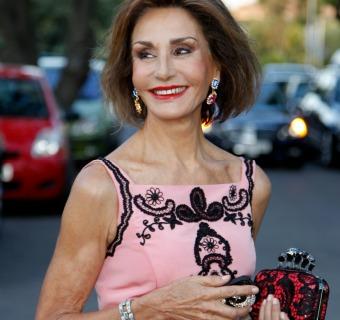 Naty Abascal deslumbra con un vestido de Oscar de la Renta