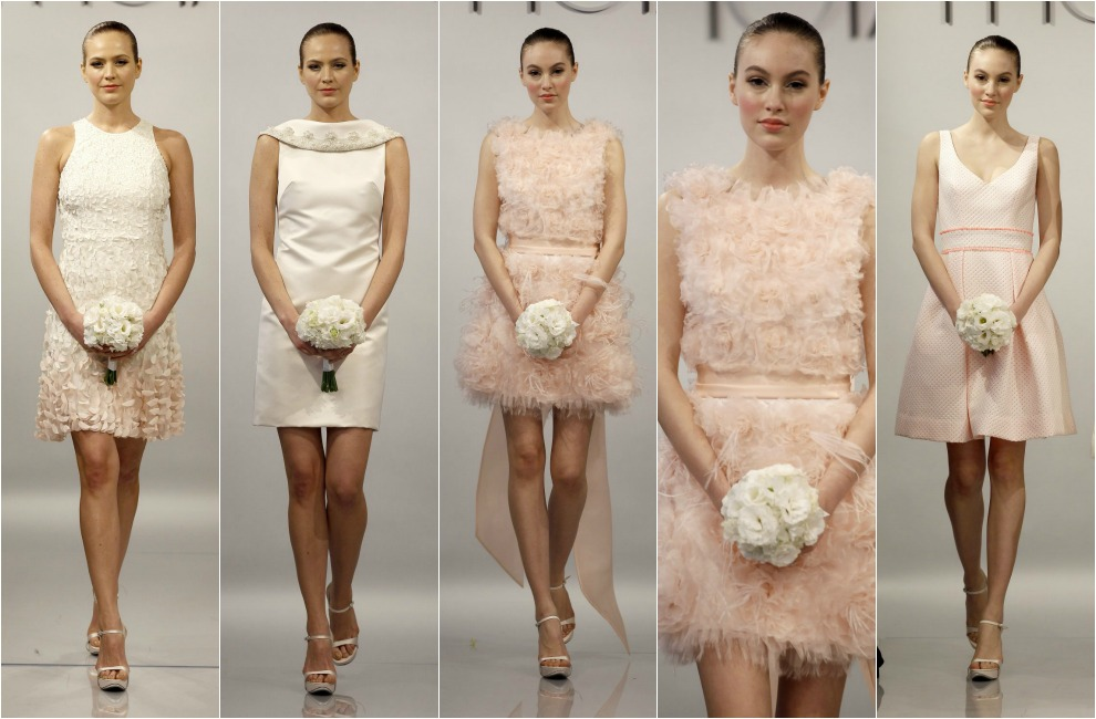 tendencias 2014: novias de corto