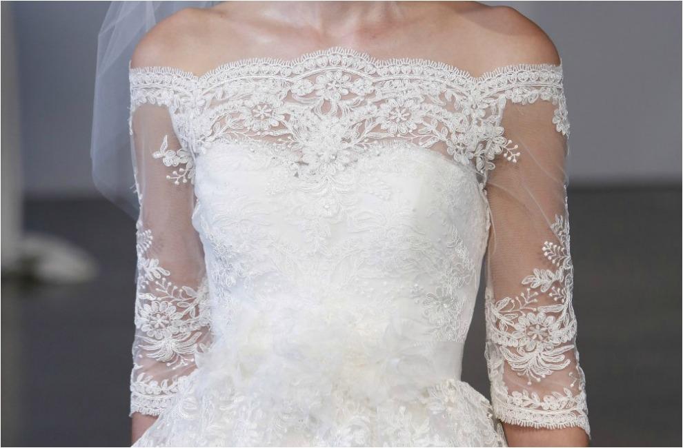 Tendencias 2014 vestidos de novia con detalles de encaje - Chantilly telas ...