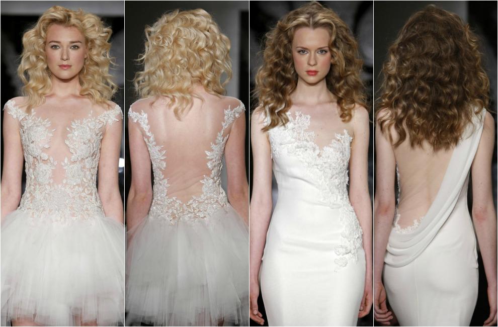 a1b541e43 Tendencias 2014  Vestidos de novia con la espalda al descubierto