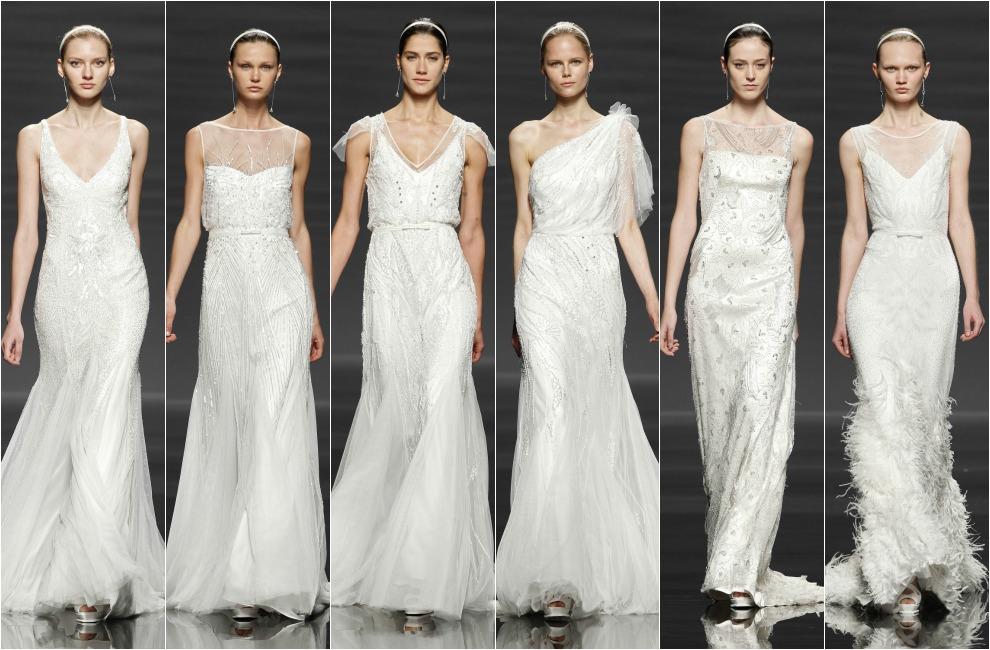 tendencias 2014: vestidos de novia inspirados en 'el gran gatsby'
