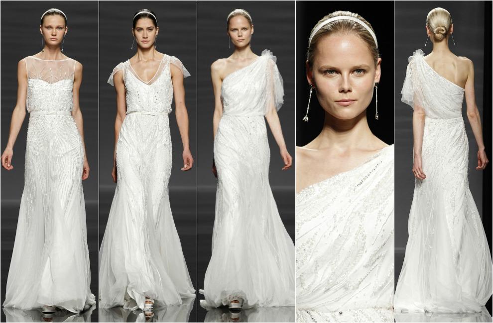 7f6ccdfcc Los  vestidos de noche  para novia de la nueva colección de Rosa Clará para  2014