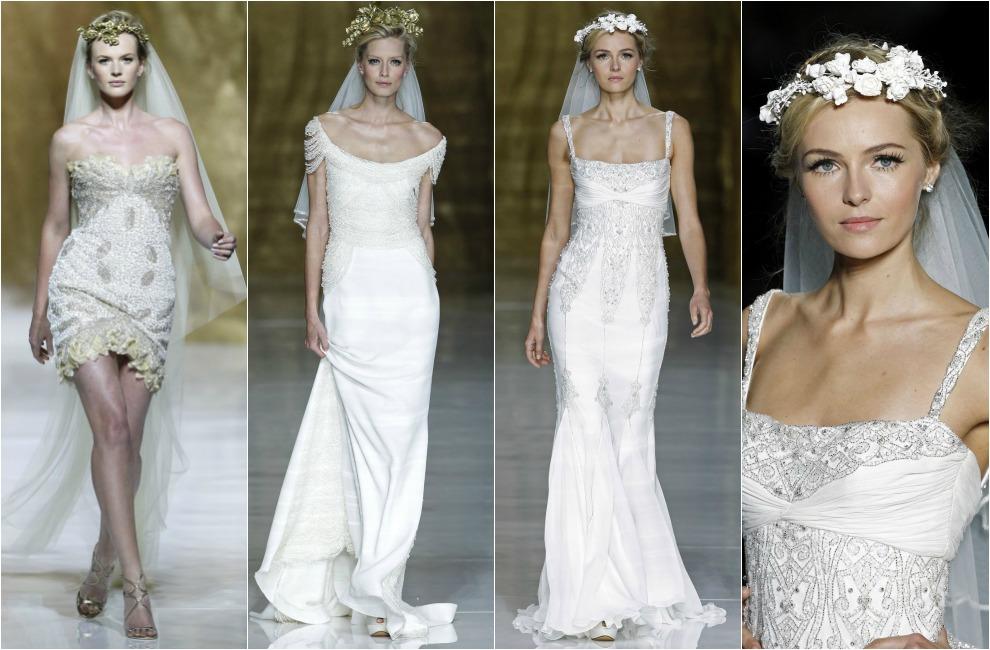 ac42ccf92 Tendencias 2014  Vestidos de noche para novia