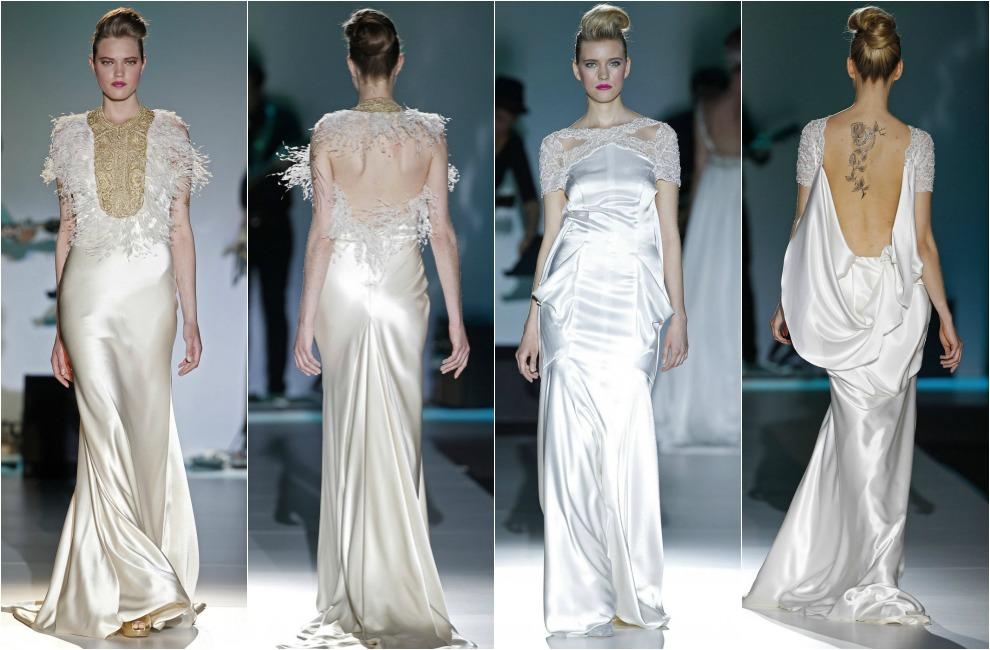7da03826a Tendencias 2014  Vestidos de noche para novia