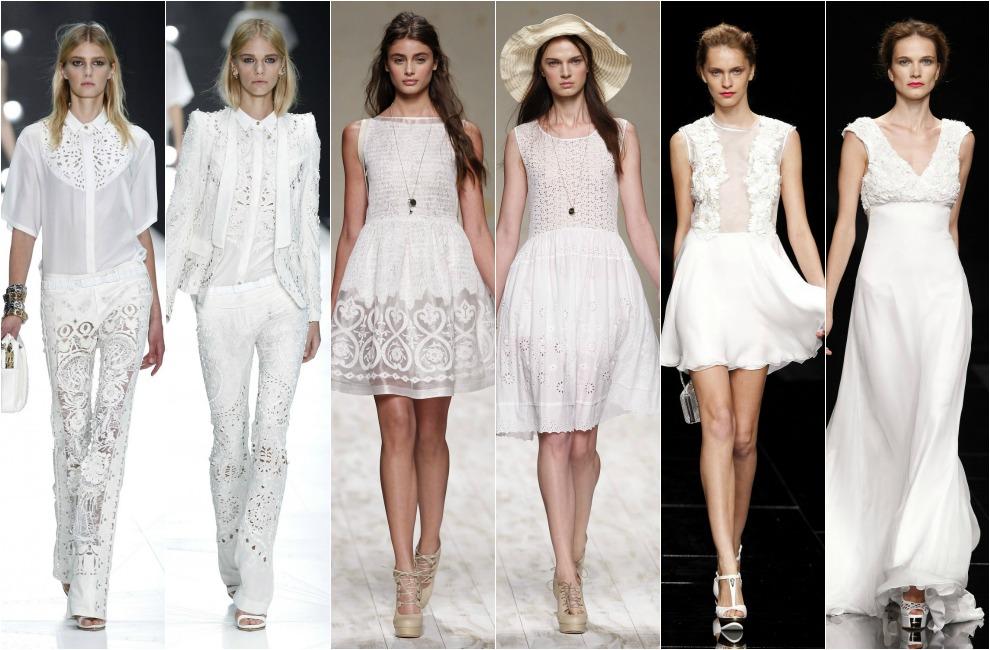 Algunas de las nuevas bodas de verano piden expresamente a sus invitados que vistan de blanco