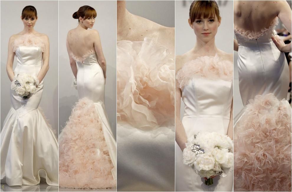 Vestidos de novia cola de sirena