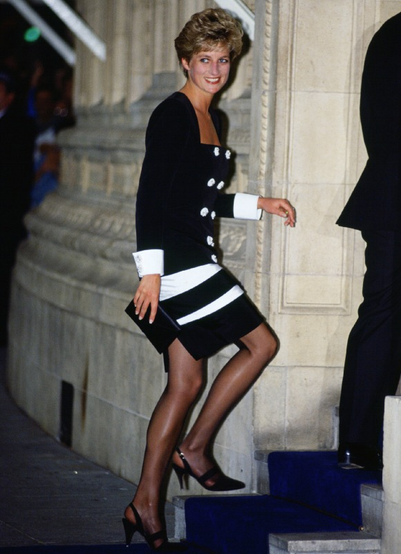 Los vestidos m s ic nicos de diana de gales foto 20 - Diana de colores ...