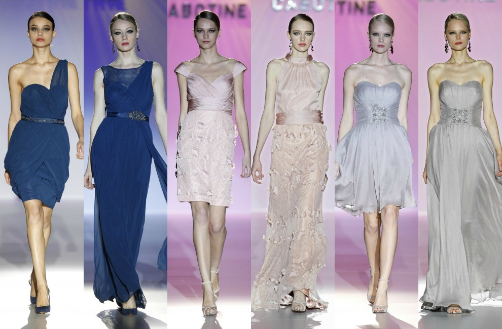 df2075aff3 Tendencias 2014  Damas de honor o  bridesmaids