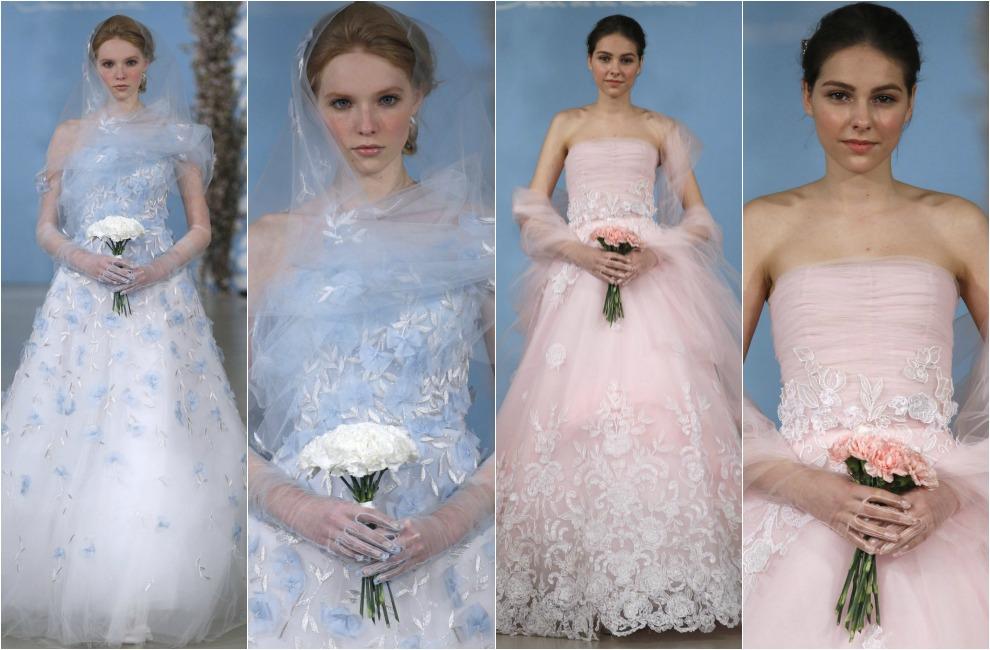 tendencias 2014: novias de colores