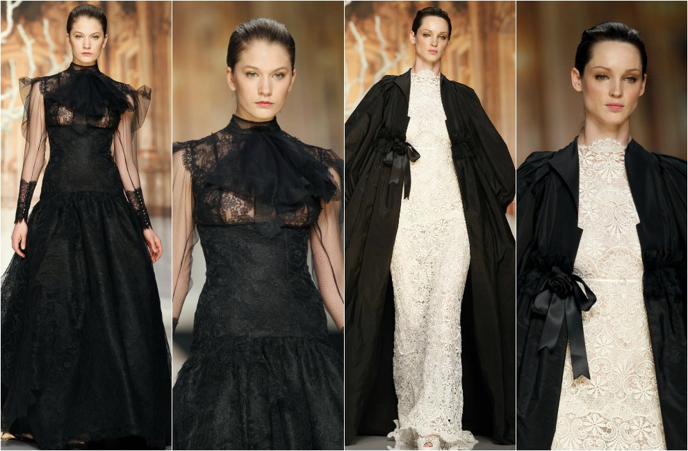 Vestidos de novia colores oscuros