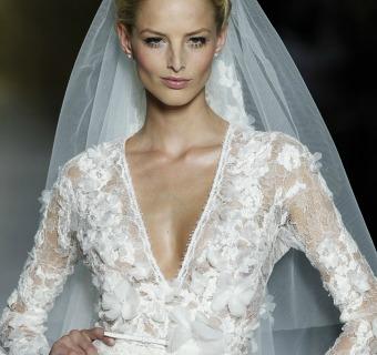Tendencias 2014: Vestidos de novia con manga larga