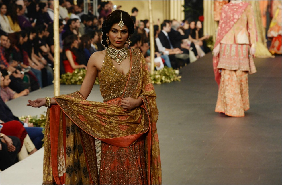 La bridal week lahore es la otra cara de las tendencias en - Tiempo en pakistan ...