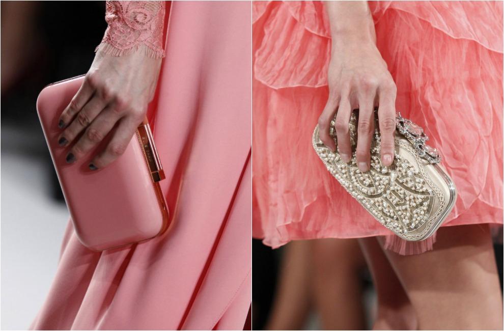 Un bolso de fiesta, con forma de joya