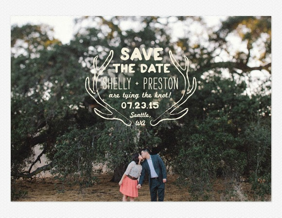 'Save-the-date', más que una invitación de boda