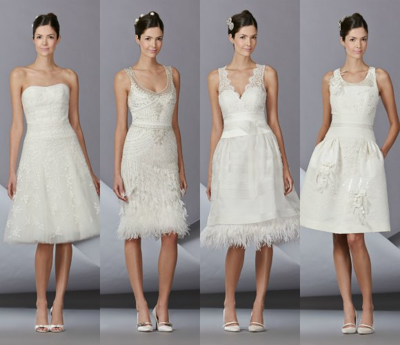 novias de corto, 'by' carolina herrera