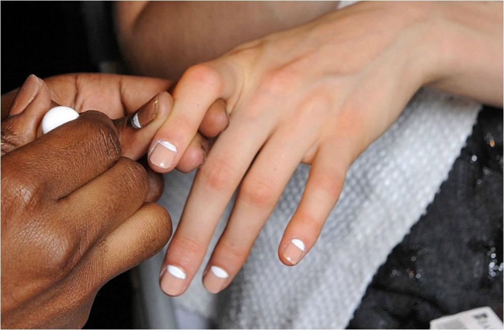 39 nail art 39 de pasarela para las novias de 2014 - Manicura francesa colores ...