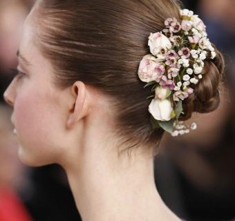 Dieciséis peinados de Alta Costura para novia