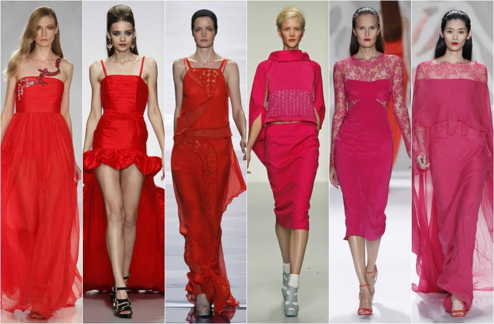 Vestidos de fiesta de dia color rojo