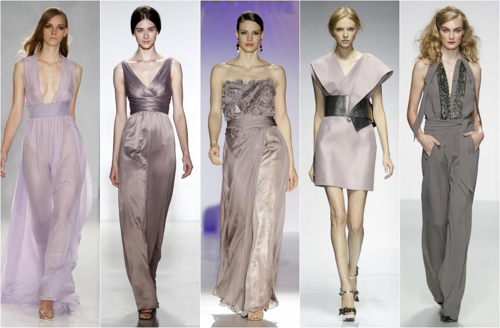 f74904dc9 Vestidos Largos para Fiestas · Los diez colores de fiesta para esta  primavera ...