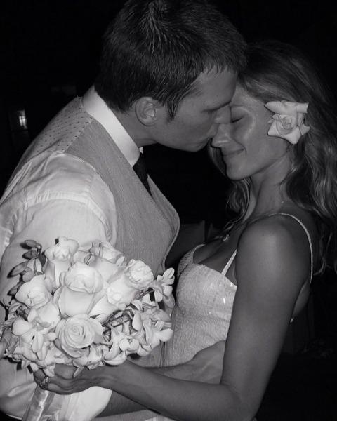 Gisele Bündchen comparte una foto del día de su boda... cinco años después