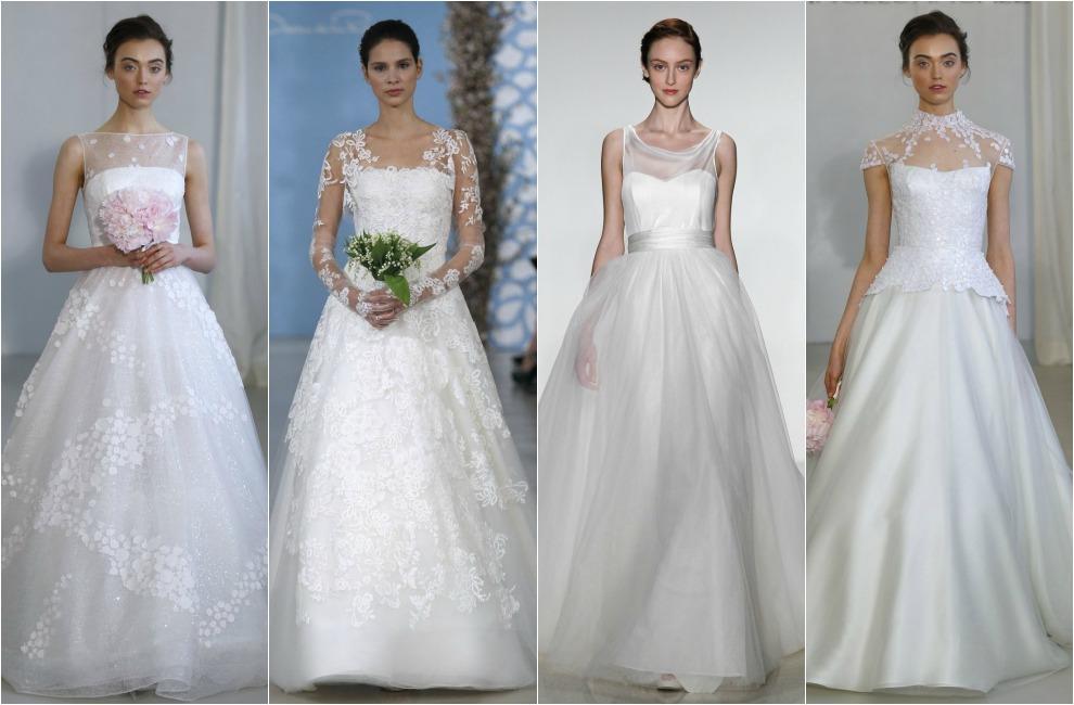 un repaso histórico a las siluetas más tradicionales del traje de novia