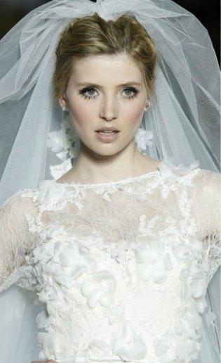 Vestidos con flores para novias e invitadas