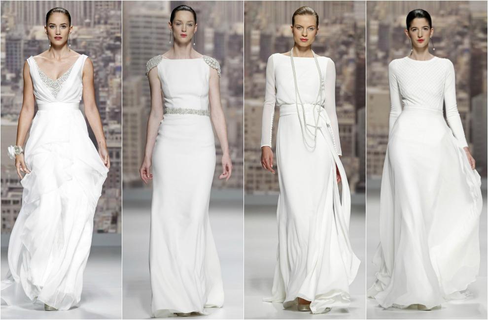 rosa clará abre la barcelona bridal week con una colección inspirada