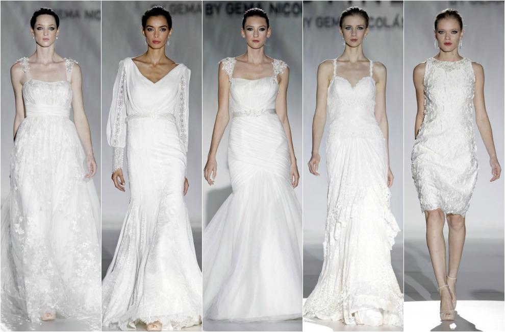 La propuesta 2015 de Gema Nicolás para Cabotine se ha abierto con una  pequeña línea de vestidos de novia a5198718fcb