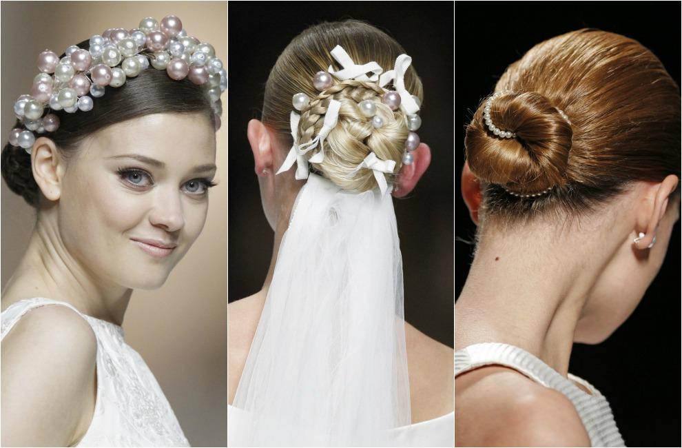Peinados de novia 2015 semirecogidos