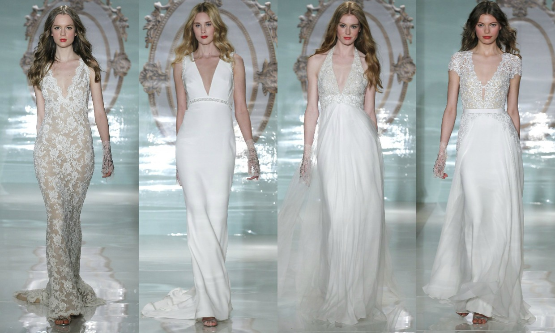 Tendencias de novia 2015: Escotes de vértigo - Foto