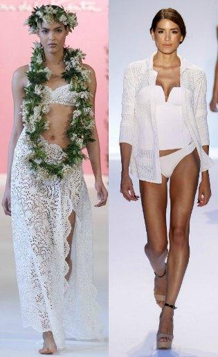 Todas las tendencias del 'swimwear' de novia de la temporada