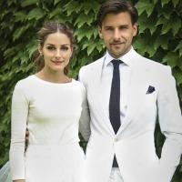 Olivia Palermo y Johannes Huebl: Novios con 'total look white'