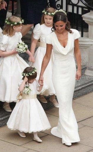 Pippa Middleton habla por primera vez sobre su vestido de dama de honor en la boda de los Duques de Cambridge