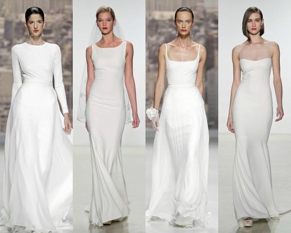 tendencias de novia 2015: minimalismo chic